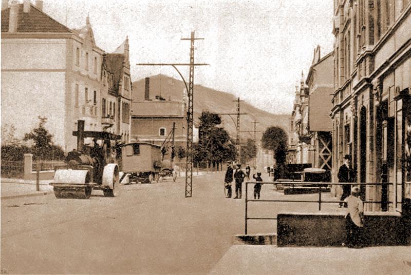 Hagener Straße, Amtshaus, Kaiserliche Post
