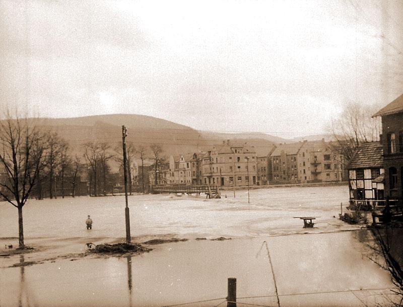 Hochwasser - Mühlengraben - Langer Kummer