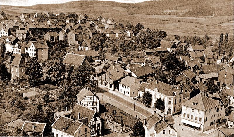 Oberdorf nach Nordwesten