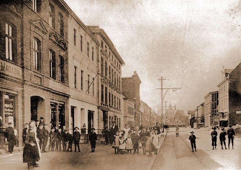 Hagener Straße nach Westen