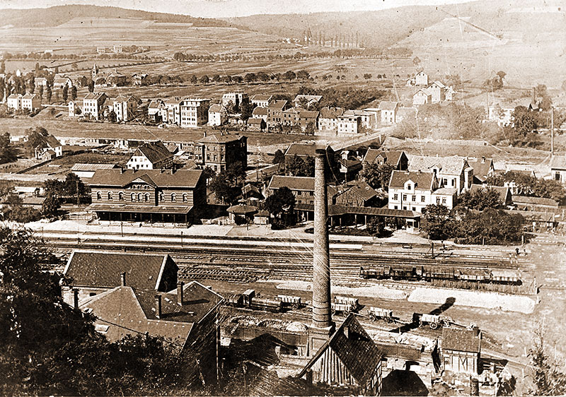 Genna - Innenstadt Letmathe nach Norden