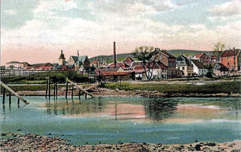 Holzbrücke - alte Kilianskirche
