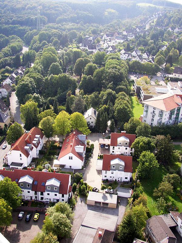 Oeger Straße - alter Friedhof - Dümpelacker