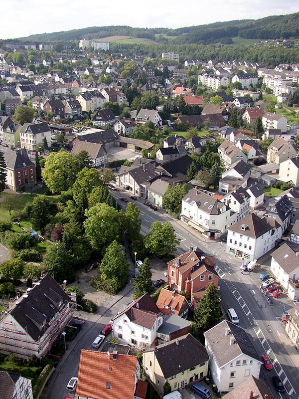 Hagener Straße - Oberdorf - Nordfeld - Markenfeld
