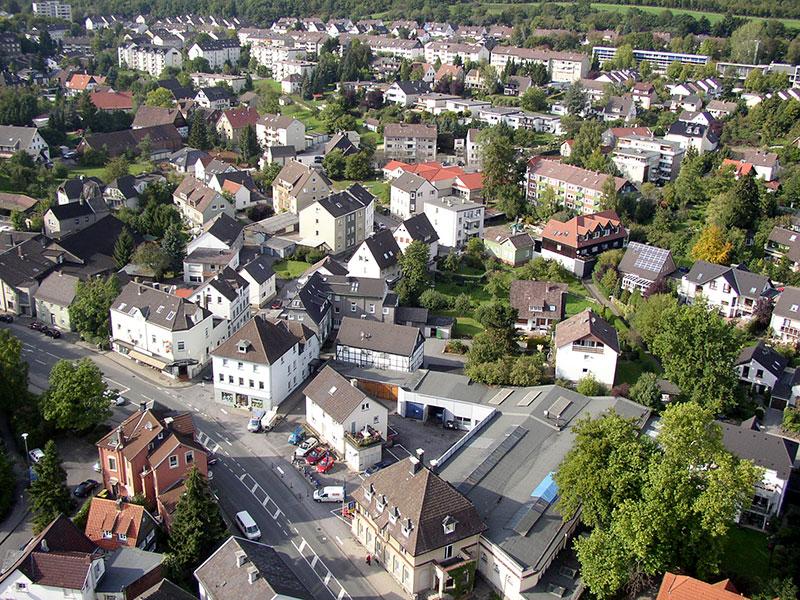 Hagener Straße - Bachstraße - Nordfeld
