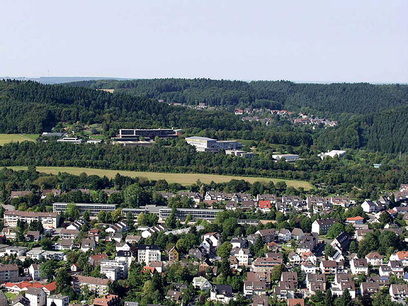 Luftbildaufnahme Letmather Schulen - Aquamathe