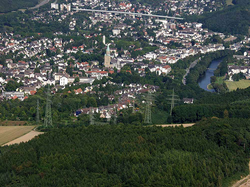 Luftbildaufnahme Steltenberg - Letmathe