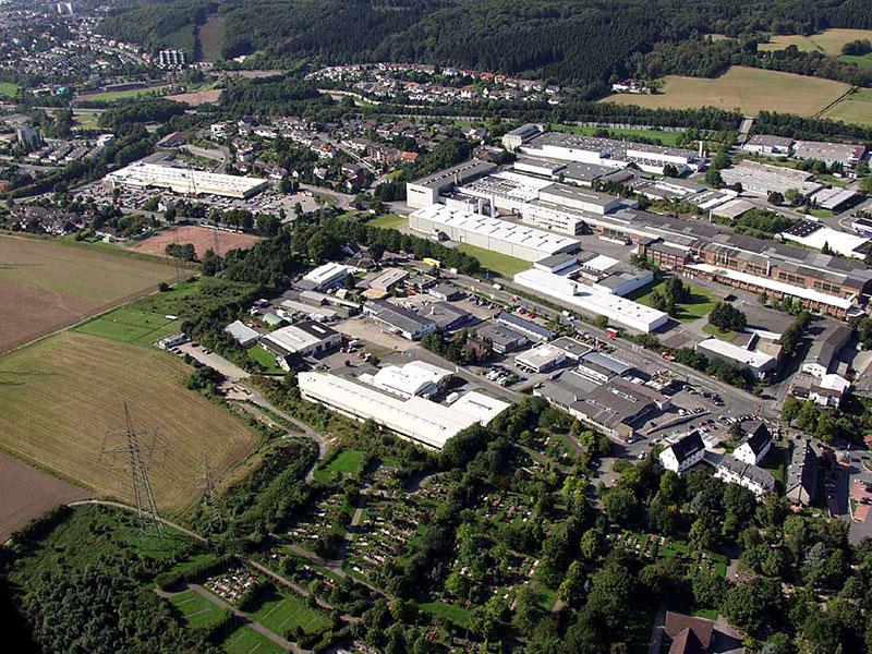 Luftbildaufnahme Grenze Hohenlimburg - Letmathe