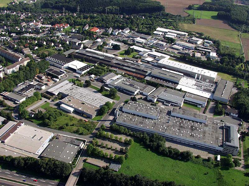Luftbildaufnahme Industriegebiet Markenfeld - Ostfeld
