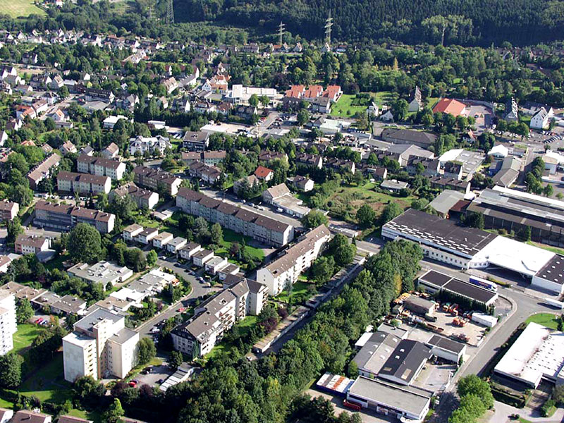 Luftbildaufnahme Markenfeld - Dümpelacker - Ostfeld