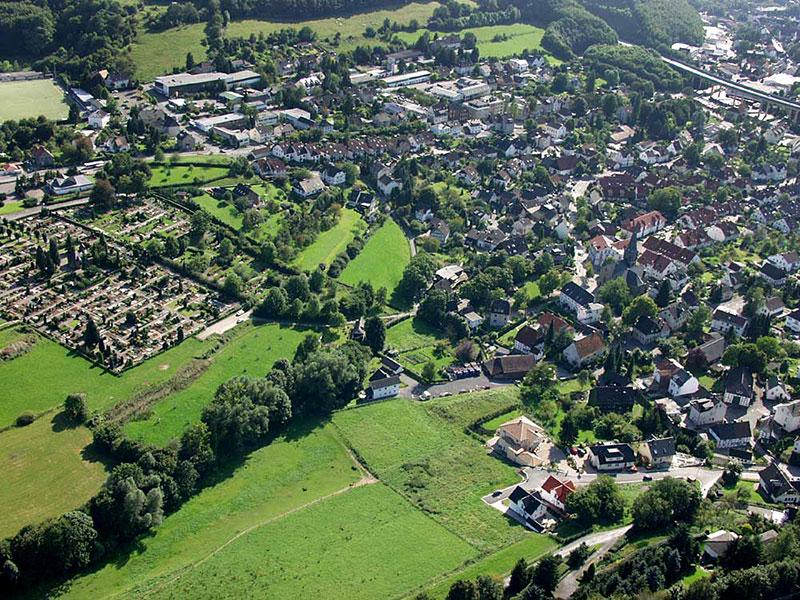 Luftbildaufnahme Oestricher Oberfeld