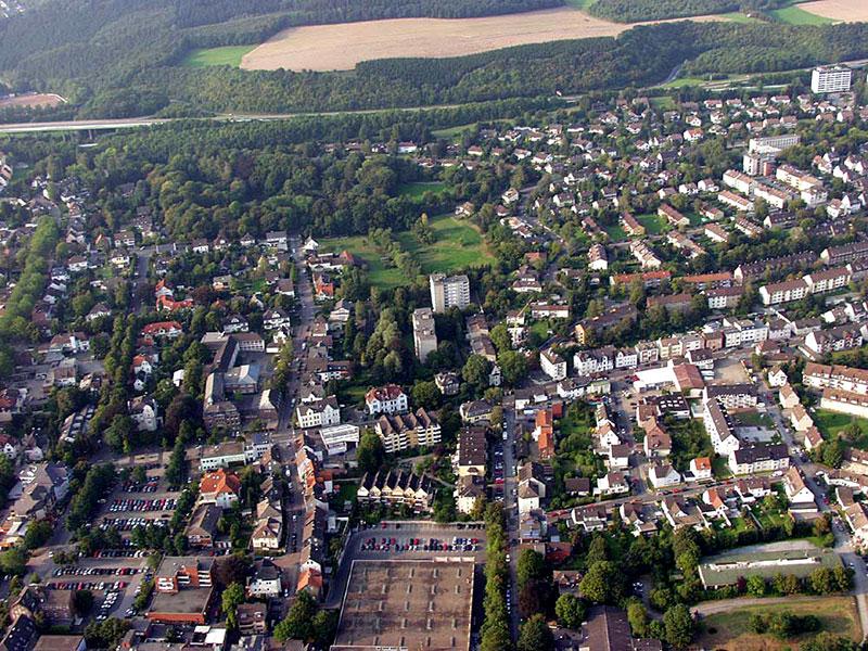 Luftbildaufnahme Letmathe - Oestrich