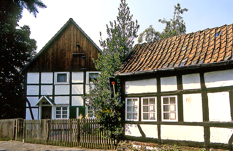 Haus der Familie Treude-Römer mit Kettenschmiede