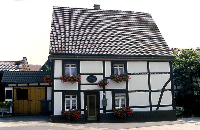 Oestrich Fachwerkhaus an der Kirchstraße