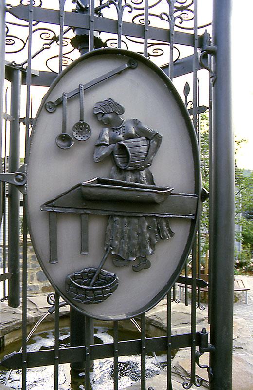 Oestrich Dorfbrunnen