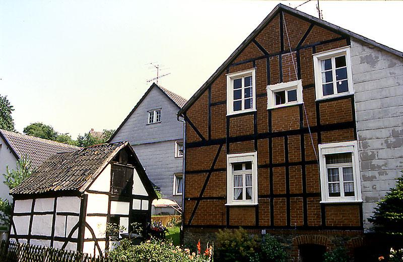 Fachwerkhaus mit Kettenschmiede