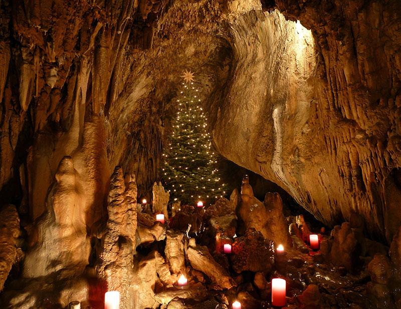 Dechenhöhle Weihnachten