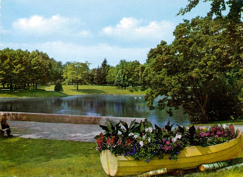 Volksgarten - Blick nach Nordwesten (1960er Jahre)