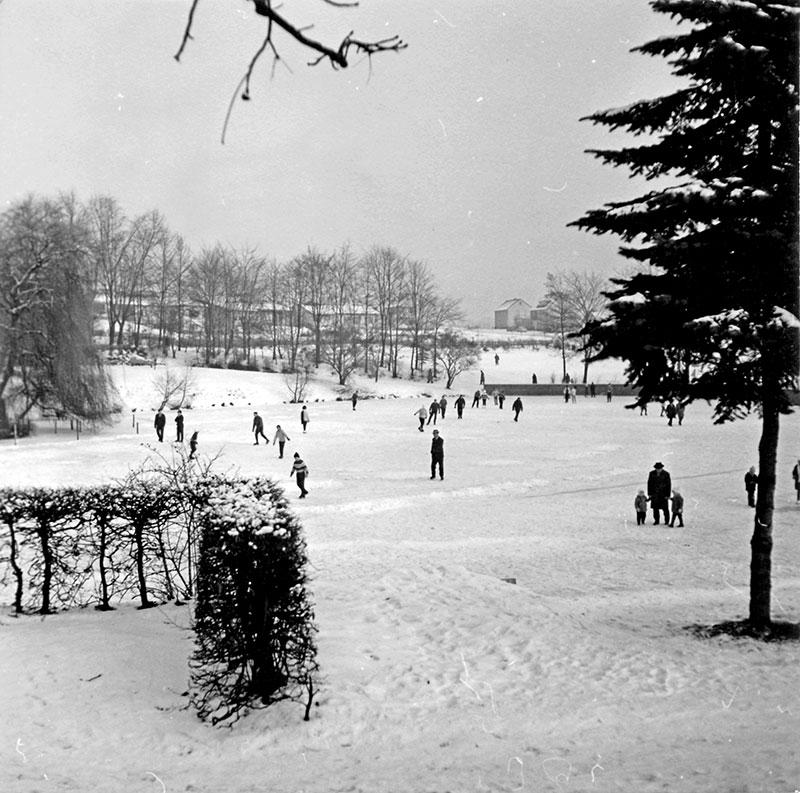 Volksgarten Winterimpressionen (Januar 1963)