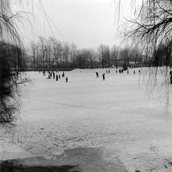 Volksgarten Winterimpressionen (1963)