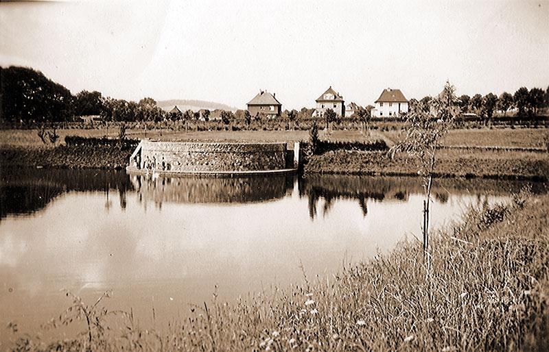 Volksgarten nach Westen (ca. 1935)