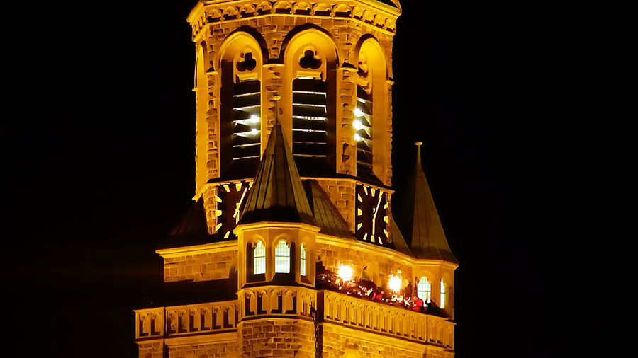 St. Kilian Turmblasen Heiligabend 2016